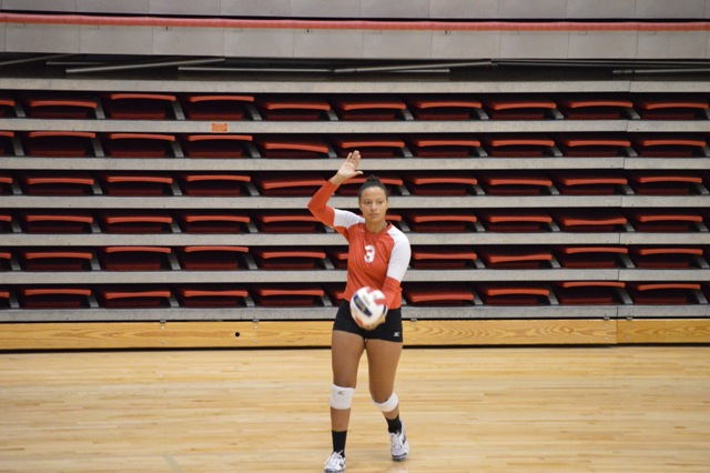 SXU Women's Volleyball vs Spring Arbor (Mich.) and Judson (Ill.) 8/31/13 - Photo 9
