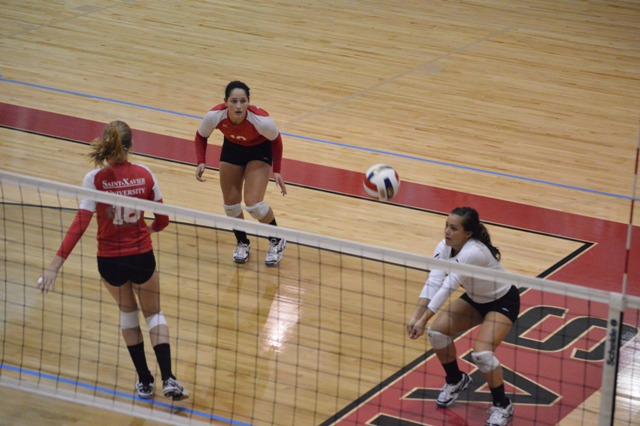SXU Women's Volleyball vs Spring Arbor (Mich.) and Judson (Ill.) 8/31/13 - Photo 19