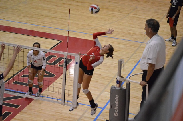 SXU Women's Volleyball vs Spring Arbor (Mich.) and Judson (Ill.) 8/31/13 - Photo 21