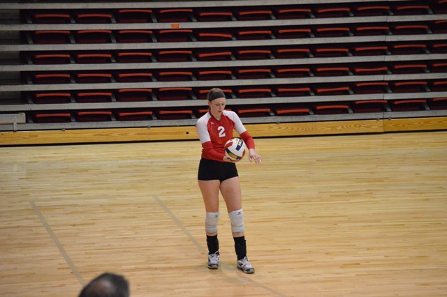 SXU Women's Volleyball vs Spring Arbor (Mich.) and Judson (Ill.) 8/31/13 - Photo 25