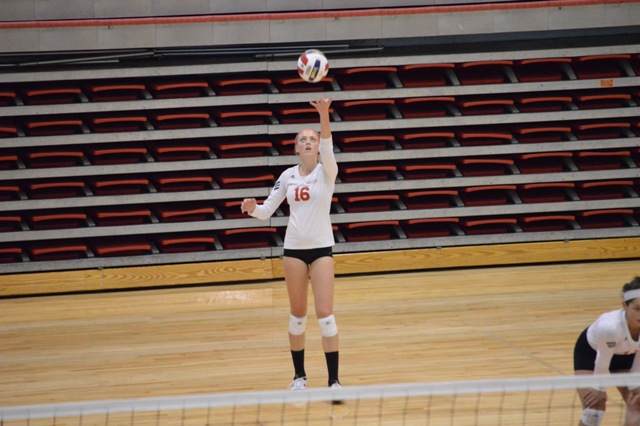 SXU Women's Volleyball vs Spring Arbor (Mich.) and Judson (Ill.) 8/31/13 - Photo 27