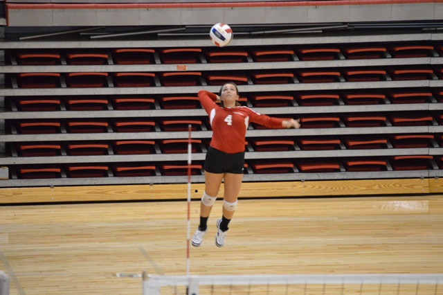 SXU Women's Volleyball vs Spring Arbor (Mich.) and Judson (Ill.) 8/31/13 - Photo 35