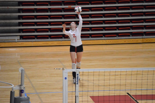SXU Women's Volleyball vs Spring Arbor (Mich.) and Judson (Ill.) 8/31/13 - Photo 36