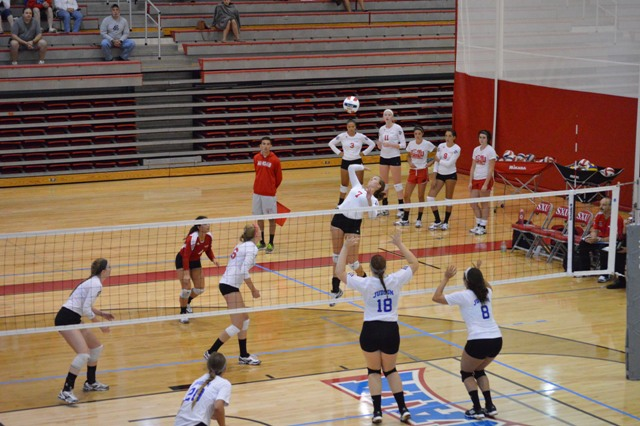 SXU Women's Volleyball vs Spring Arbor (Mich.) and Judson (Ill.) 8/31/13 - Photo 41