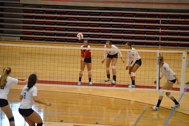 SXU Women's Volleyball vs Spring Arbor (Mich.) and Judson (Ill.) 8/31/13 - Photo 50