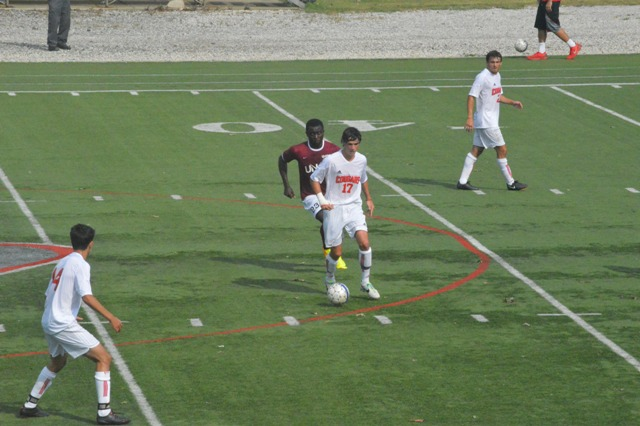 5th SXU Men's Soccer vs Northwestern Ohio 8/31/13 Photo