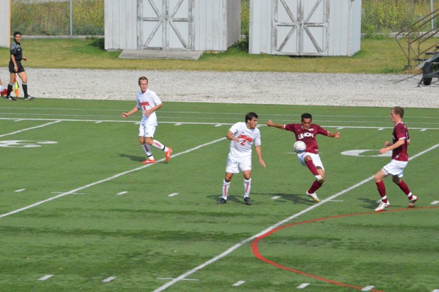 6th SXU Men's Soccer vs Northwestern Ohio 8/31/13 Photo