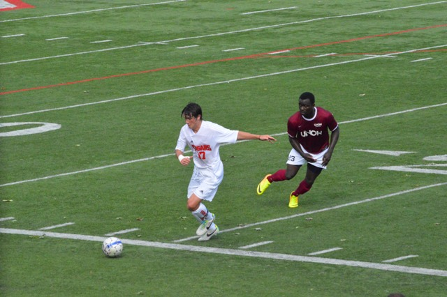 9th SXU Men's Soccer vs Northwestern Ohio 8/31/13 Photo