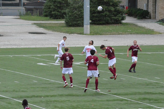14th SXU Men's Soccer vs Northwestern Ohio 8/31/13 Photo