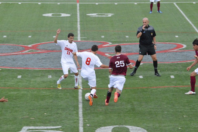 15th SXU Men's Soccer vs Northwestern Ohio 8/31/13 Photo