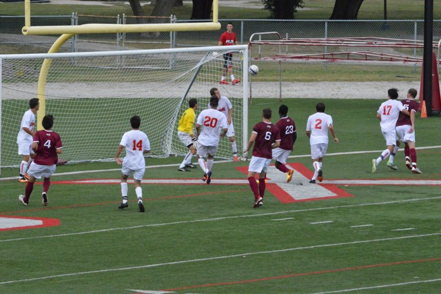 16th SXU Men's Soccer vs Northwestern Ohio 8/31/13 Photo