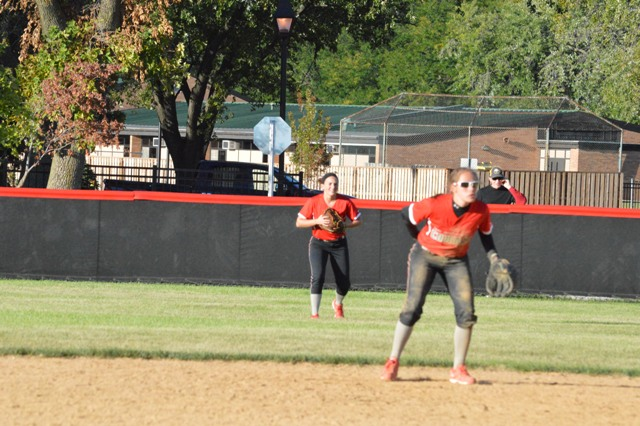 33rd SXU Softball vs Roosevelt (Ill.) 9/13/13 Photo