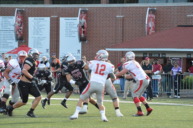 10th SXU Football vs University of Indianapolis (Ind.) 9/14/13 Photo