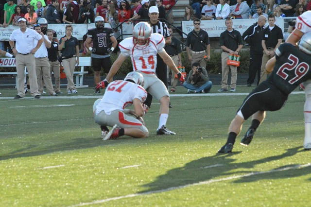 14th SXU Football vs University of Indianapolis (Ind.) 9/14/13 Photo