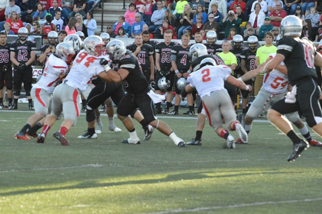 16th SXU Football vs University of Indianapolis (Ind.) 9/14/13 Photo