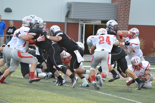 24th SXU Football vs University of Indianapolis (Ind.) 9/14/13 Photo
