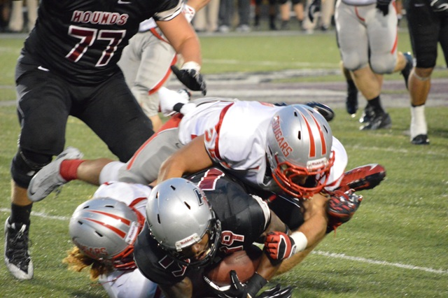 29th SXU Football vs University of Indianapolis (Ind.) 9/14/13 Photo