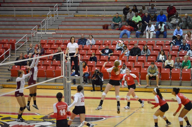 6th SXU Women's Volleyball vs Cardinal Stritch (Wis.) 9/17/13 Photo