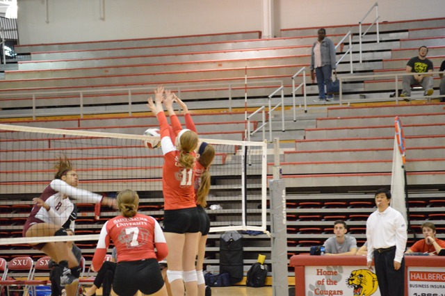 9th SXU Women's Volleyball vs Cardinal Stritch (Wis.) 9/17/13 Photo