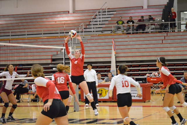 10th SXU Women's Volleyball vs Cardinal Stritch (Wis.) 9/17/13 Photo