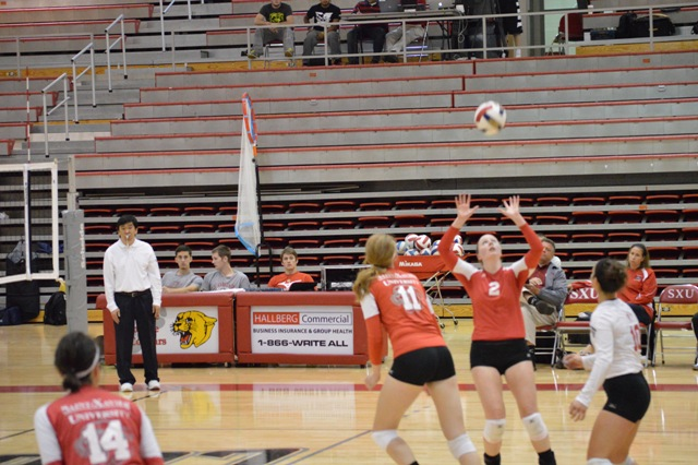 13th SXU Women's Volleyball vs Cardinal Stritch (Wis.) 9/17/13 Photo