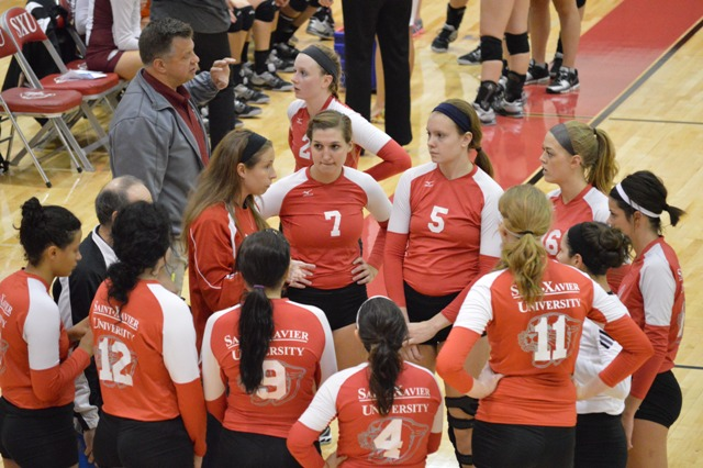 16th SXU Women's Volleyball vs Cardinal Stritch (Wis.) 9/17/13 Photo