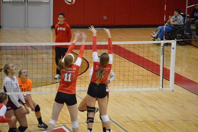 17th SXU Women's Volleyball vs Cardinal Stritch (Wis.) 9/17/13 Photo