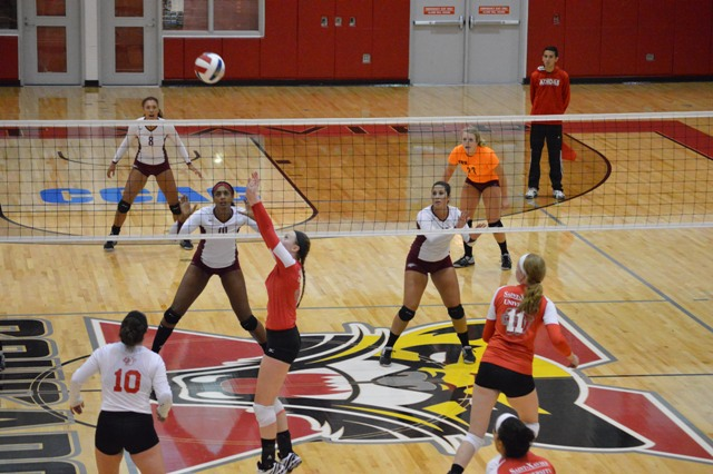 20th SXU Women's Volleyball vs Cardinal Stritch (Wis.) 9/17/13 Photo