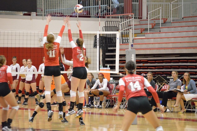 23rd SXU Women's Volleyball vs Cardinal Stritch (Wis.) 9/17/13 Photo