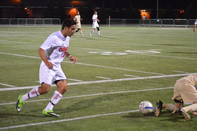SXU Men's Soccer vs St. Francis (Ill.) 9/24/13 - Photo 1