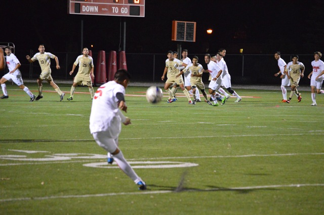 SXU Men's Soccer vs St. Francis (Ill.) 9/24/13 - Photo 5