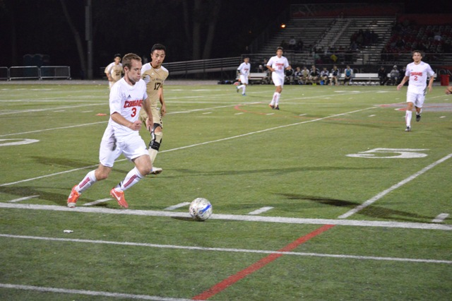 SXU Men's Soccer vs St. Francis (Ill.) 9/24/13 - Photo 19