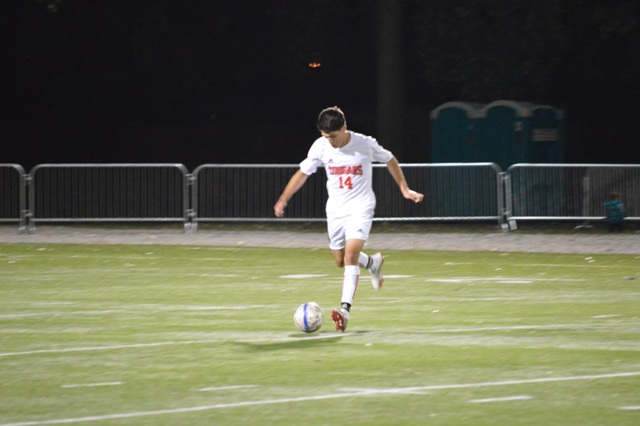 SXU Men's Soccer vs St. Francis (Ill.) 9/24/13 - Photo 20