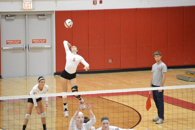 12th SXU Women's Volleyball vs Roosevelt (Ill.) 10/1/13 Photo