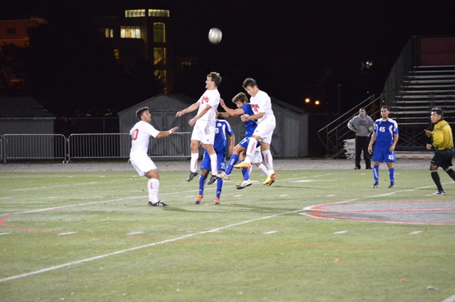 SXU Men's Soccer vs Judson (Ill.) 10/2/13 - Photo 4