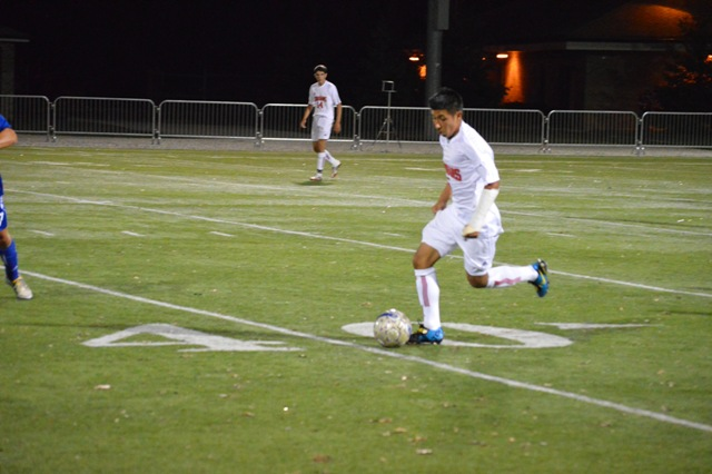 SXU Men's Soccer vs Judson (Ill.) 10/2/13 - Photo 12