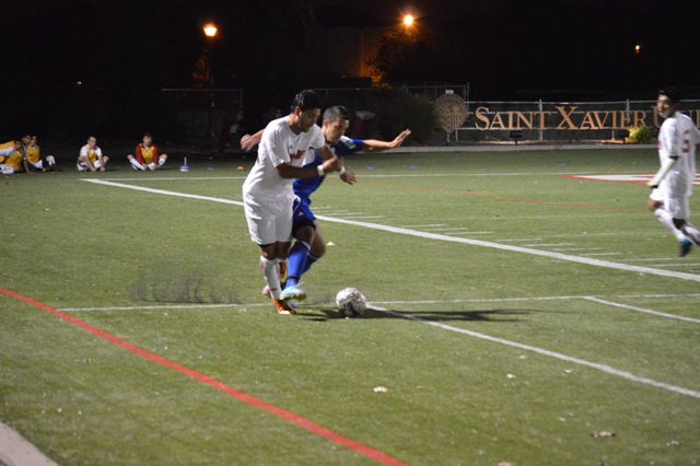 SXU Men's Soccer vs Judson (Ill.) 10/2/13 - Photo 14