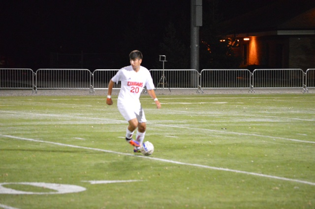 SXU Men's Soccer vs Judson (Ill.) 10/2/13 - Photo 16