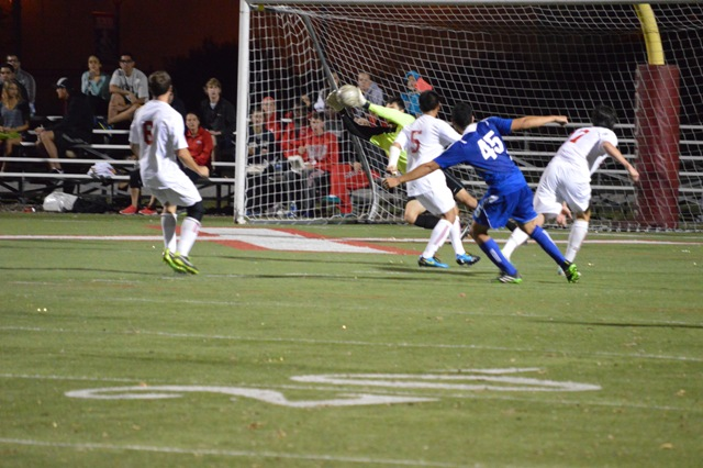 SXU Men's Soccer vs Judson (Ill.) 10/2/13 - Photo 20