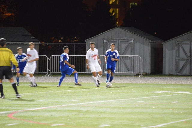 SXU Men's Soccer vs Judson (Ill.) 10/2/13 - Photo 22