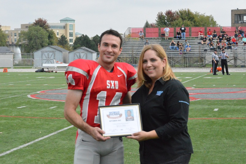 32nd SXU Football at Homecoming Weekend 10/5/13 Photo
