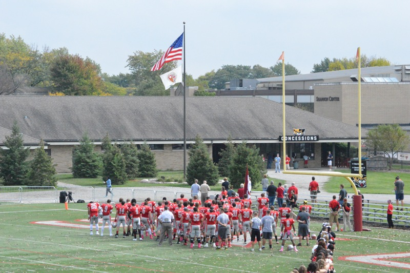 34th SXU Football at Homecoming Weekend 10/5/13 Photo