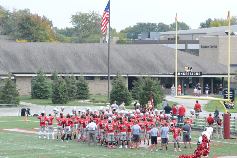 35th SXU Football at Homecoming Weekend 10/5/13 Photo