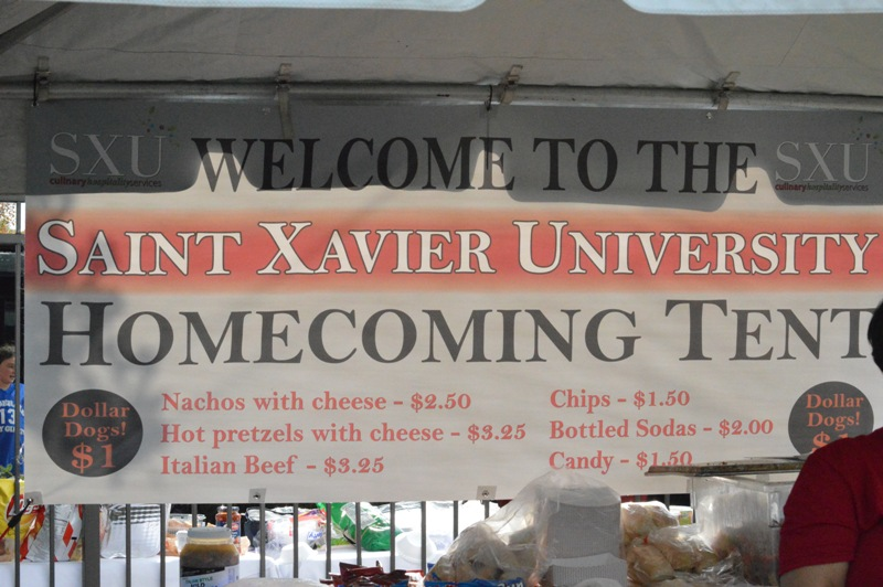 40th SXU Football at Homecoming Weekend 10/5/13 Photo