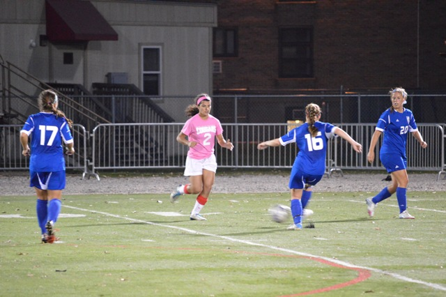 4th SXU Women's Soccer vs. Trinity International 10-9-13 Photo
