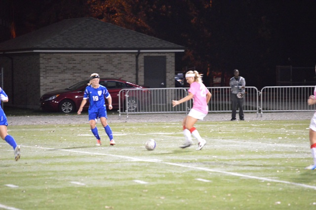 5th SXU Women's Soccer vs. Trinity International 10-9-13 Photo