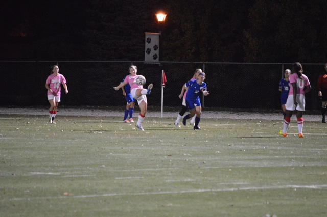 9th SXU Women's Soccer vs. Trinity International 10-9-13 Photo