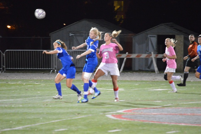 11th SXU Women's Soccer vs. Trinity International 10-9-13 Photo