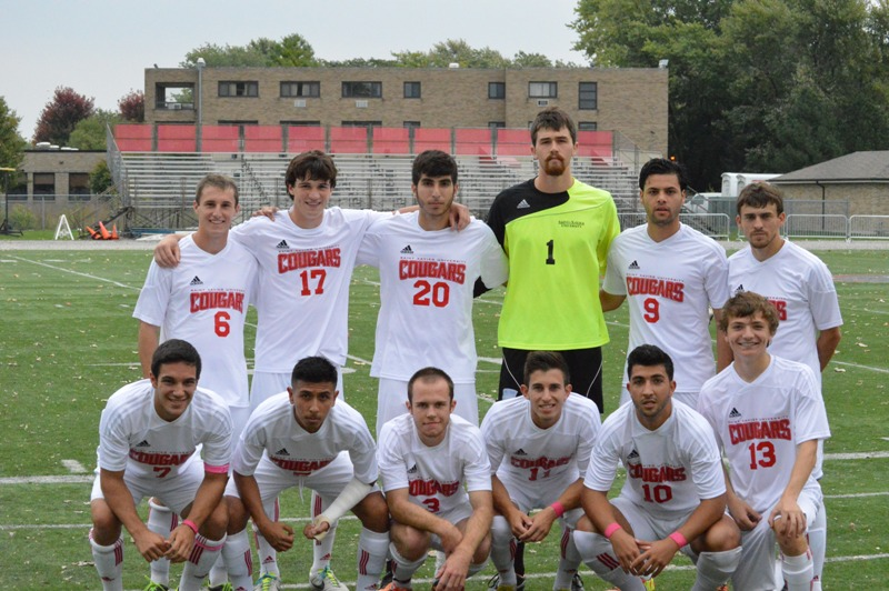 1st SXU Men's Soccer vs Olivet Nazarene (Ill.) 10/12/13 Photo