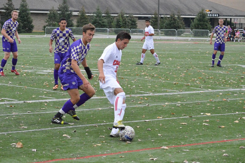 3rd SXU Men's Soccer vs Olivet Nazarene (Ill.) 10/12/13 Photo
